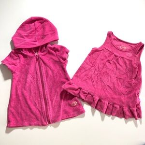 12 Month Baby Girl Swim Dress & Coverup Clothes